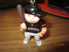 San Francisco Giants Black Jersey L'il Brat Keychain