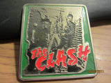 Clash Ist Album Cover 3 Inch Belt Buckle Punk