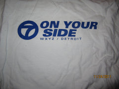 WXYZ Channel 7 Detroit On Your Side T Shirt Large