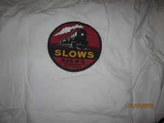 Slows Bar B Que Detroit T Shirt Medium Organic Cotton