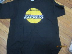 Detroit Express Yellow Logo T Shirt Large NASL