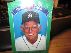 Detroit Tigers 1990 SGA Sealed Card Set Tiger Stadium Coke Kroger