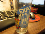 Expo 86 Vancouver 6 1/4 Tall Glass Canada