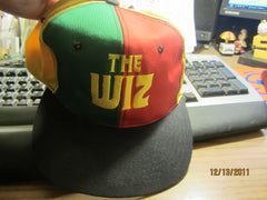 The Wiz Multi Color Panel Snapback Hat Vintage
