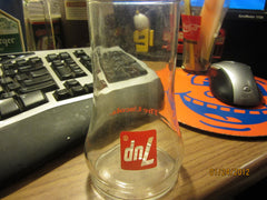 7 UP The Uncola Upside Down Glass