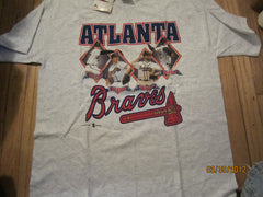 Altlanta Braves 1998 Maddux Smoltz, Avery, Neagle T Shirt XL New W/tag