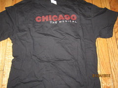 Chicago The Musical T Shirt Large Black New W/O Tag