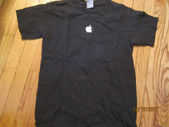Apple Logo Black T Shirt Small Apple.Com