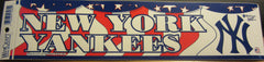 New York Yankees Logo 1997 Bumper Sticker