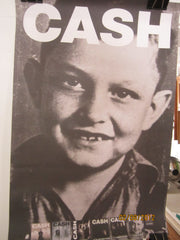 Johnny Cash American Recordings Promo Poster