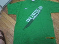 Celtic Football Club Logo T Shirt Small Nike Glasgow Scotland