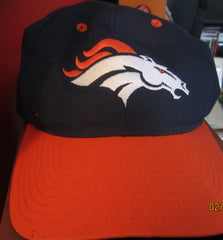 Denver Broncos Logo Two Tone Snapback Hat By Twins Tebow