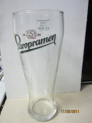 Staropramen Czech Lager UK Pint Glass Beer