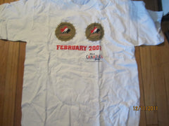 Team Canada Hockey 2002 Dual Gold Medals Mens & Womens T Shirt XL Molson