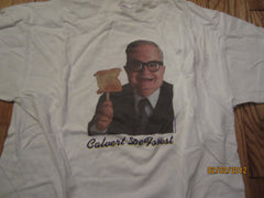 "David Letterman Larry ""Bud"" Melman T Shirt XL Calvert DeForest RARE!"