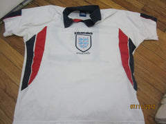 England Football #12 Soccer Jersey XL