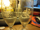 Fischer Biere De Alsace Tulip Style 0.5ltr Glasses France Set Of 2 Beer