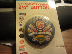 Chicago Cubs 2 1/4 Inch Pin Mint On Card