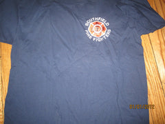 Southfield Michigan Fire Department Logo T Shirt Large