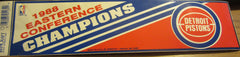 Detroit Pistons 1988 Eastern Conference Champs Bumper Sticker