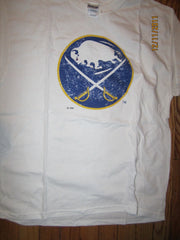 Buffalo Sabres Classic Old Logo T shirt Large New Bud Canada