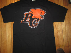 BC Lions Logo T Shirt Large CFL British Columbia