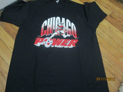 Chicago Power Logo Vintage T Shirt XL Indoor Soccer