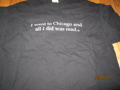 Chicago Public Library Black T Shirt XL