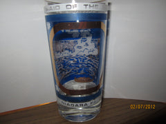 Niagara Falls Canada Vintage Falls/Maid of The Mist Glass