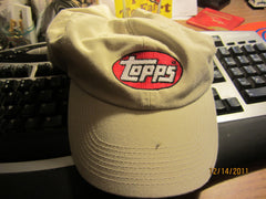 Topps Baseball Cards Logo Khaki Adjustable Hat