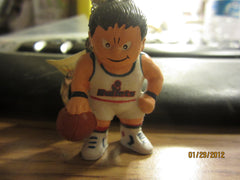 Washington Bullets White Jersey L'il Brat Keychain