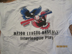 Chicago Cubs 2000 Interleague Play Logo T Shirt XL