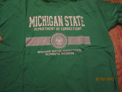 Michigan State Dept Of Corrections Western Wayne T Shirt XL