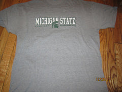 Michigan State Logo Grey T Shirt XL By Russell