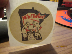Minnesota Twins Logo 1970's 3 Inch Iron On