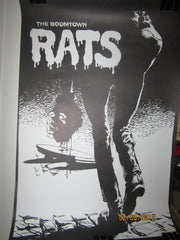 Boomtown Rats Card Stock US Promo Poster