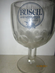 Busch Beer Vintage Boomba Style Beer Glass