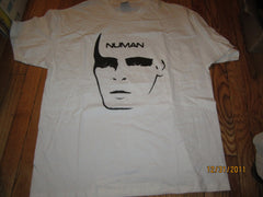 Gary Numan Image White T Shirt XL New W/O Tag
