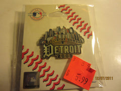 Detroit Tigers 2005 All Star Game Skyline Logo Metal Pin New In Package