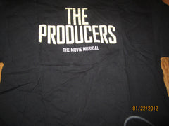 The Producers The Movie Musical  Logo Black T Shirt XL