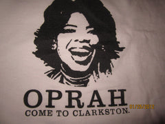 "Clarkston Union ""Oprah Come To Clarkston"" T Shirt XL Metro Detroit Bar/Restaurant"