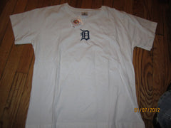 "Detroit Tigers Olde English ""D"" T shirt Ladies Large New W/O Tag"