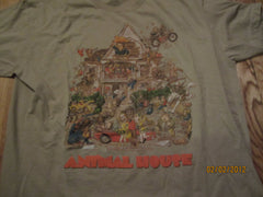 Animal House Original Poster Art Vintage Fit T Shirt XL