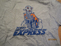Detroit Express Logo T Shirt Medium NASL
