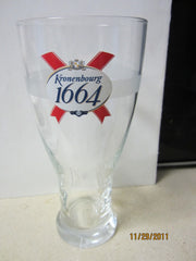 Kronenbourg 1664 Beer UK Pint Glass Switzerland