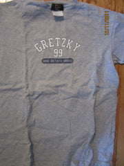 "Wayne Gratzky's Restaurant Toronto ""99"" Grey T Shirt Medium"