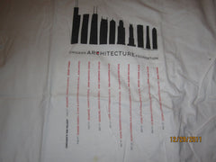 Chicago Architecture Foundation T Shirt Medium