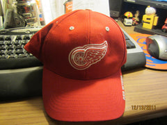 Detroit Red Wings Logo Adjustable Hat By Twins