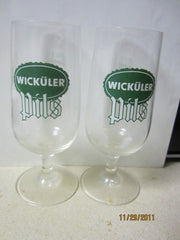 Wickuler Pils Set Of Two 0.2ltr Tasting Glasses Germany