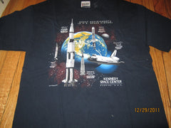 Kennedy Space Center Florida T Shirt Large
